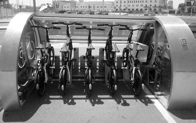 parking cerrado y seguro de bicis